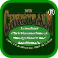 Christbaumschmuck Weihnachtsdekoration aus Glas Onlineshop Markenqualität Lauschaer Glaskunst ®-Logo