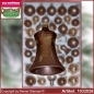 Preview: Christmas tree decorations - assortment The Mystery of the wood - Glass bell 5cm 3pc./box
