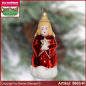 Preview: Christmas tree ornaments Angel with star glass figure glass shape Collectible