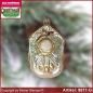Preview: Christmas tree ornaments Cuckoo Clock glass figure glass shape Collectible