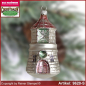Preview: Christmas tree ornaments Lighthouse glass figure glass shape Collectible