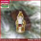 Preview: Christmas tree ornaments Santa Claus mini glass figure glass shape Collectible