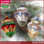 Preview: Christmas tree ornaments gyroscope glass figure glass shape Collectible Lauscha Glass Art ®.