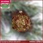 Preview: Christmas tree ornaments Baroque forms Set 3-pc. glass figure glass shape Collectible