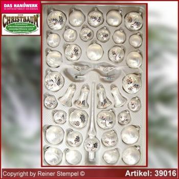 christbaumschmuck aus glas sortimente 39 tlg glasbl serei onlineshop aus lauscha th ringen. Black Bedroom Furniture Sets. Home Design Ideas