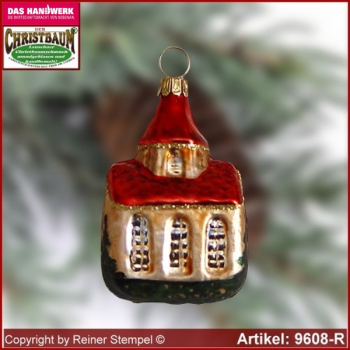 Christmas tree ornaments collectible Church