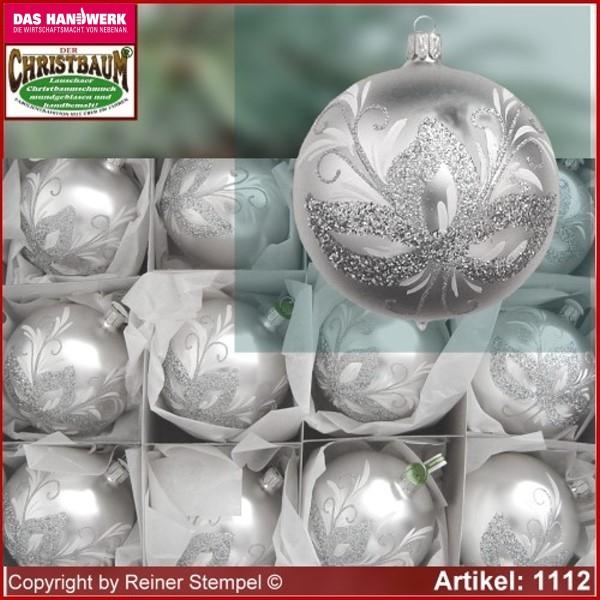 Christbaumkugeln Lauscha.Christbaumkugeln Lauscha Silber Weihnachten In Europa