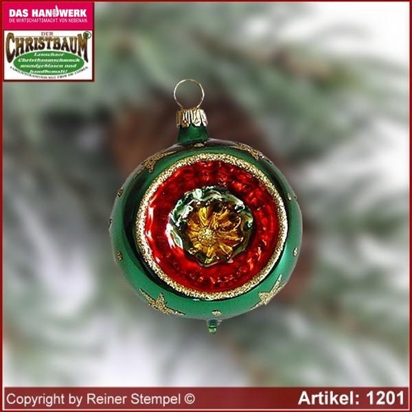 Christbaumkugeln Hellgrün.Christbaumschmuck Kugeln Glaskugeln Mit Reflex Set 12 Tlg Bergweihnacht Grün