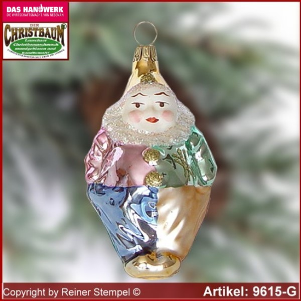 Christmas tree ornaments collectible Clown