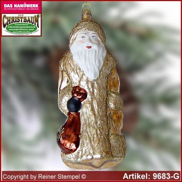 Christbaumschmuck Grosser Weihnachtsmann Baumschmuck Aus Lauscha
