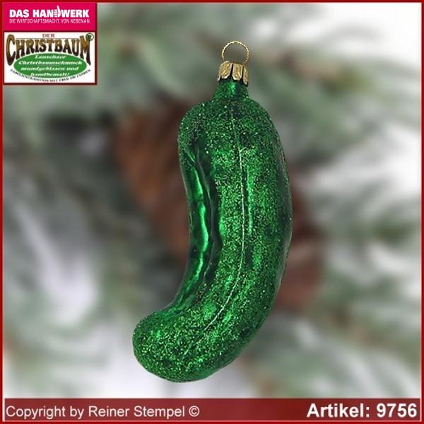 Christmas Tree Pickle Ornament.Christmas Tree Ornaments Glass Pickle Glass Figure Glass Shape Collectible